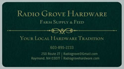 Radio Grove Hardware