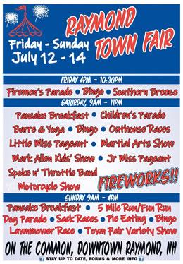 Raymond Town Fair Information