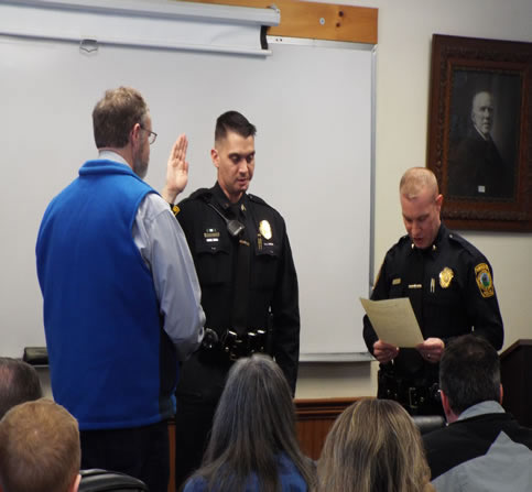Michael Labell is Raymond's New Police Chief